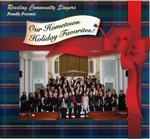 CD Cover - Hometown Holiday Favorites
